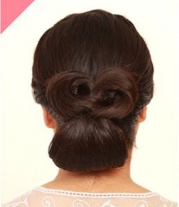 بستن مو بصورت پاپیون