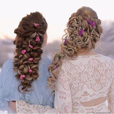 نمونه های از مدل مو برای ست کردن با دوستانتون