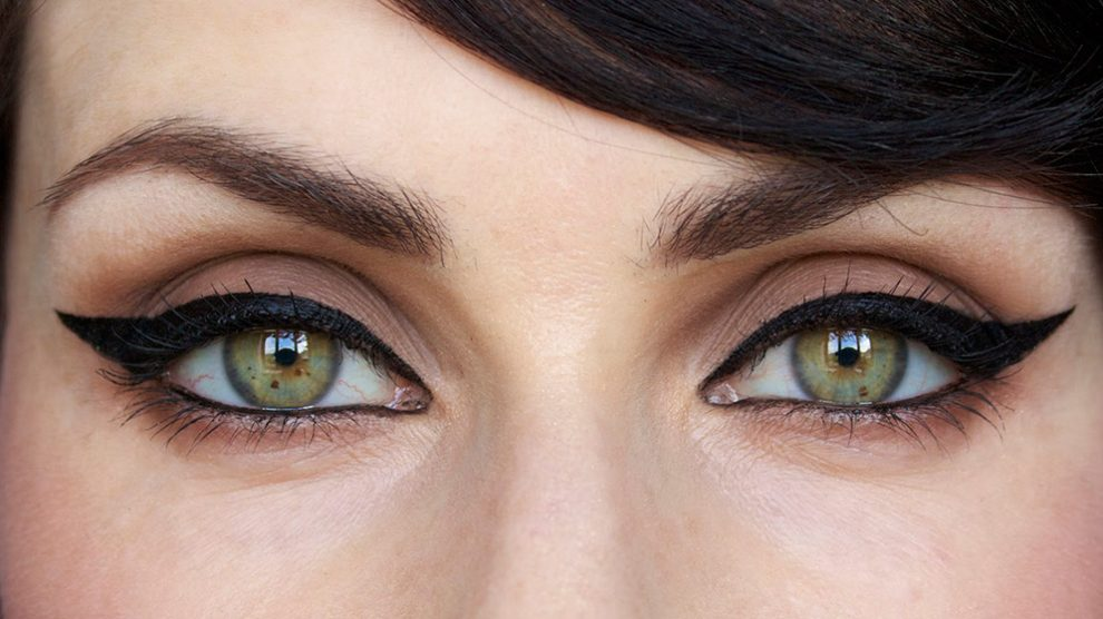 خط چشم گربهای برای انواع مدل چشم